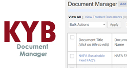 KYB Productions - Document Manager