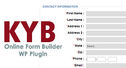KYB Productions - Online Form Builder
